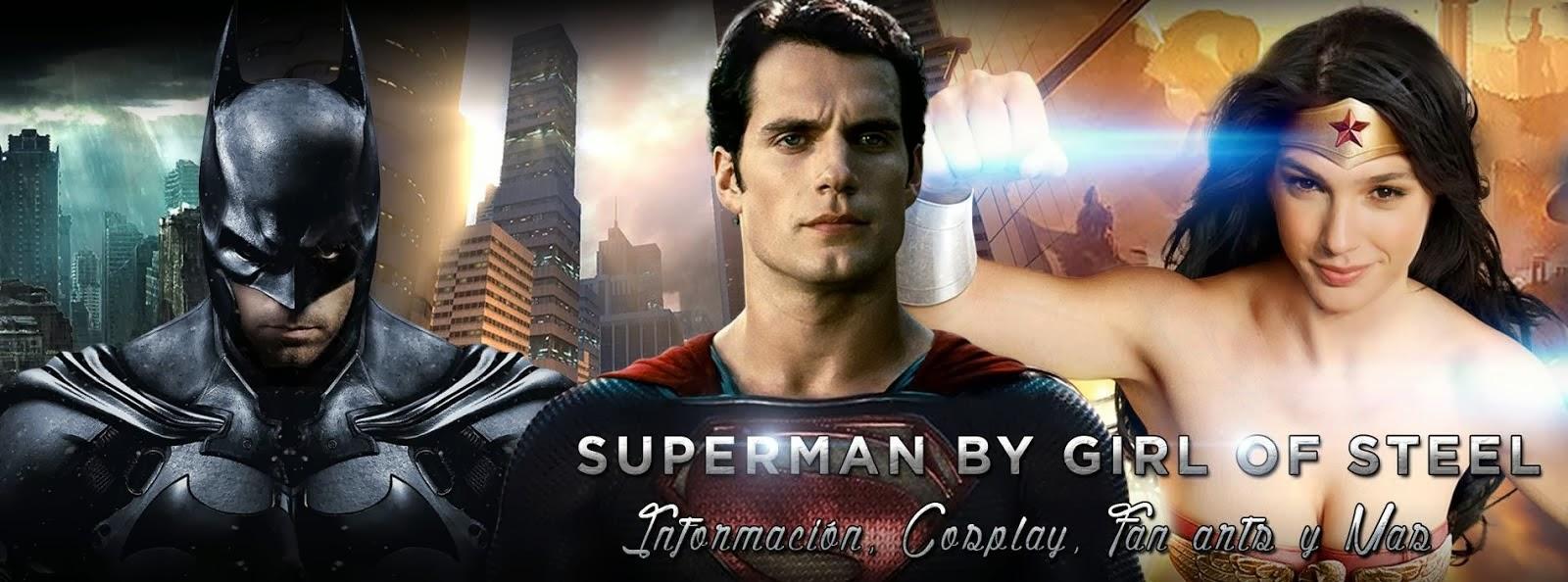 Entra en la Fortaleza de la Soledad de Girl of Steel, y entérate de las noticias sobre Superman!