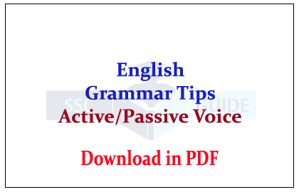 Important English Grammar Tips And Rules For Active Passive Voice