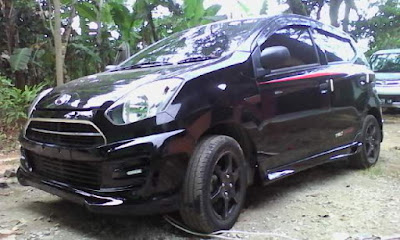 Bodykit Samping Sporty Agya Ayla