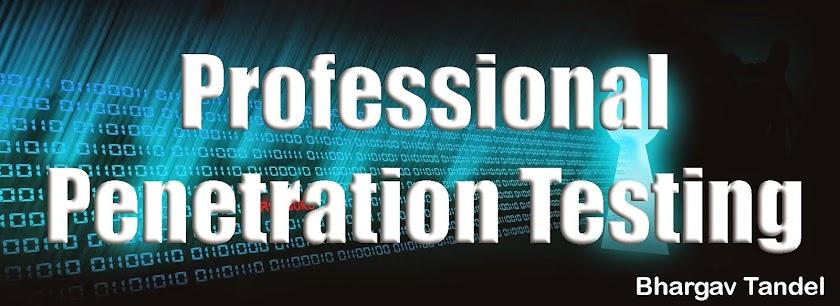 Penetration Testing Blog