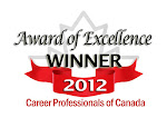 Career Professionals of Canada Award of Excellence Winner 2012