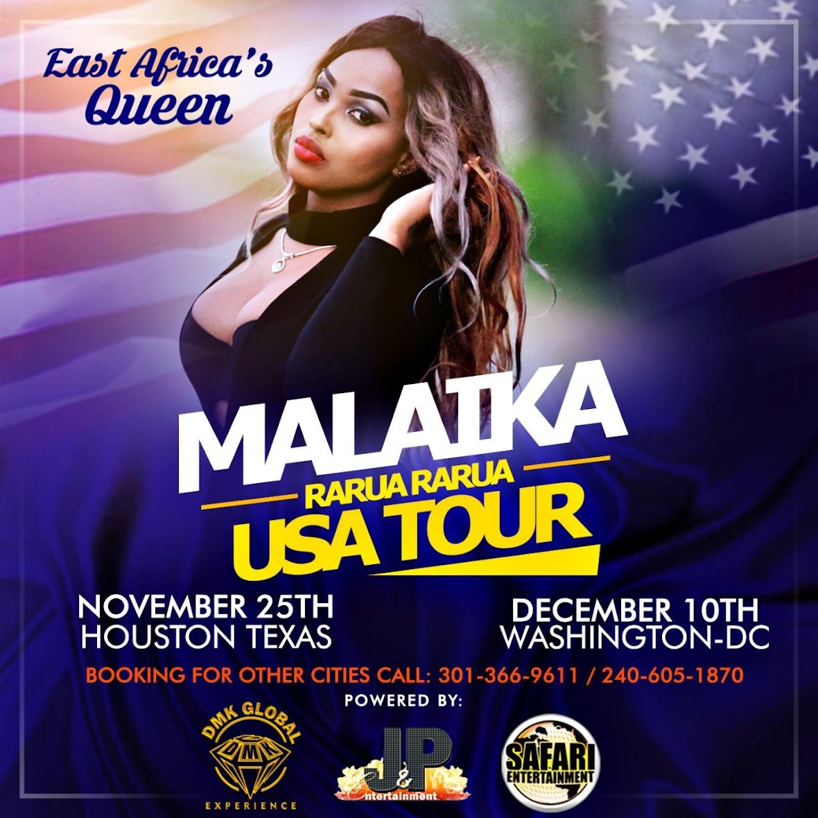 MALAIKA USA TOUR 2016-17