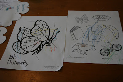 butterfly coloring pages, butterfly lapbook unit