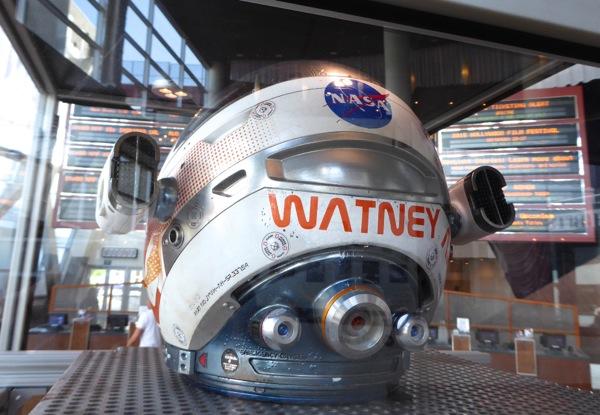 The Martian space helmet