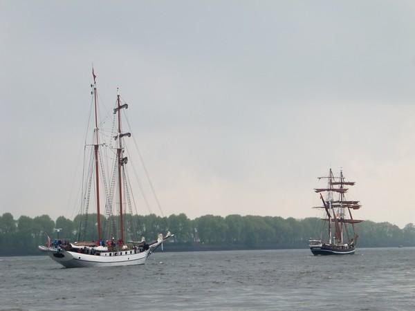 Hambourg Hamburg Elbe Elb övelgönne