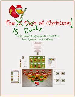 http://www.teacherspayteachers.com/Product/Silly-Christmas-Duck-Math-Language-Arts-for-K-1-1007060