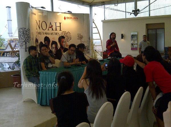 Konser Noah Semarang 6 Oktober 2012