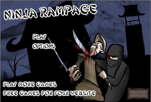 Jogar Online Ninja Rampage
