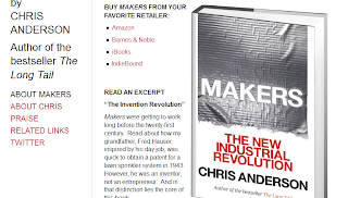 """Imagen de la portada del Libro """"Makers"""" de Chris Anderson"""