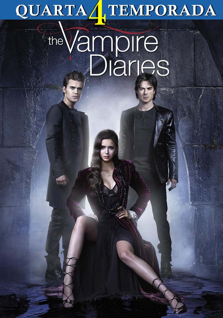 Diários de Um Vampiro 4ª Temporada Torrent - BluRay 720p Dual Áudio
