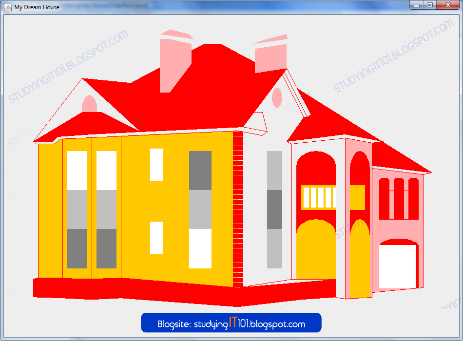 Studying it information technology course how to draw a for Draw your dream house
