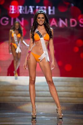 Foto Kontes Bikini di Miss Universe 2012