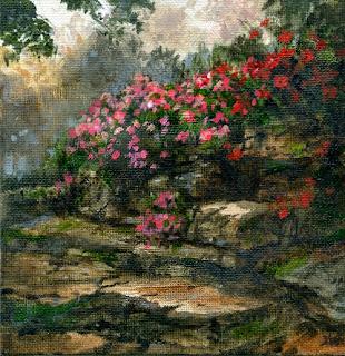 Rock Flowers by Jeff Ward