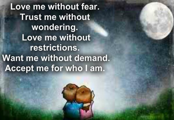 Love Me Without Fear ~ Fun Awful