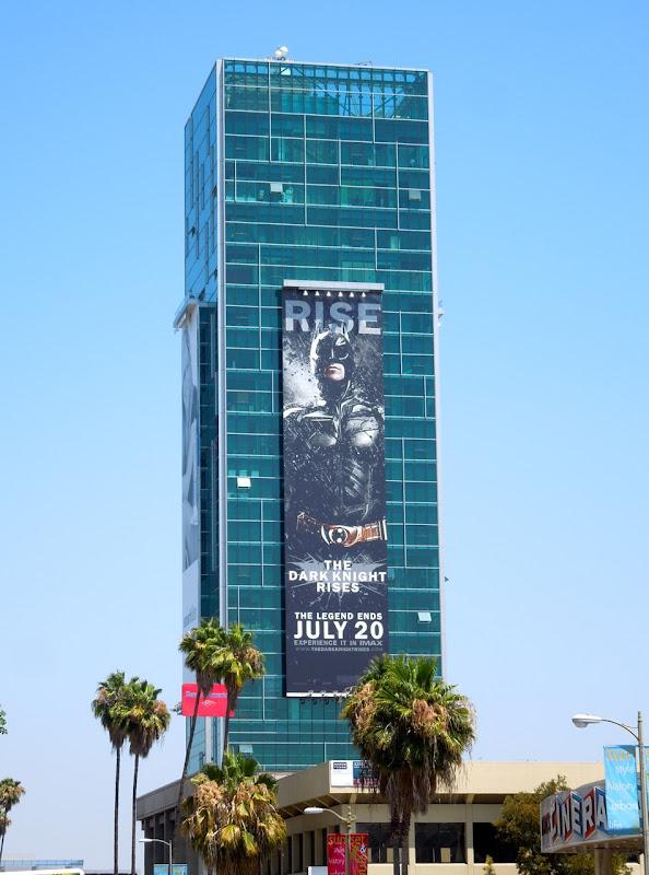Dark Knight Rises Batman billboard