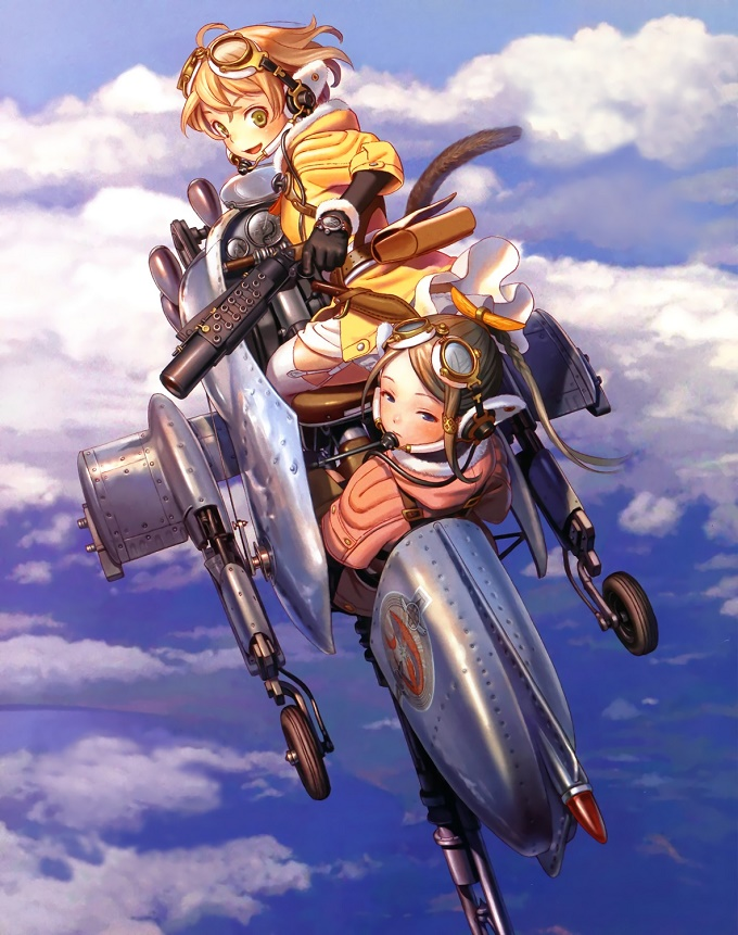 Gekijou-ban Last Exile: Ginyoku no Fam Over the wishes