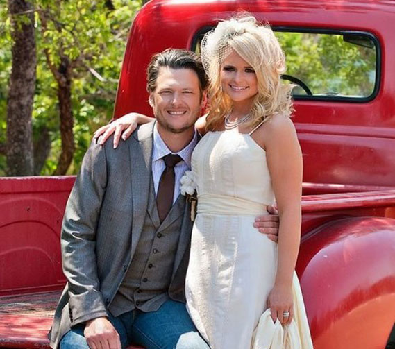 Blake And Miranda Wedding