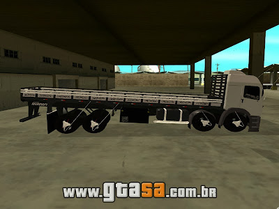 Vw Constellation 8x4 Bitruck para GTA San Andreas