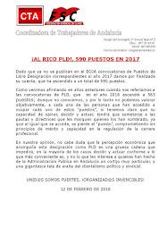 Al rico PDL, 590 puestos en el 2017