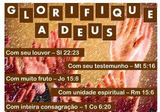 Glorifique a Deus!