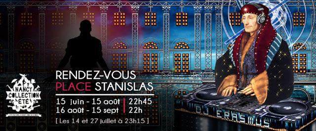 """Son et lumière """"Rendez-vous Place Stanislas 2013"""""""