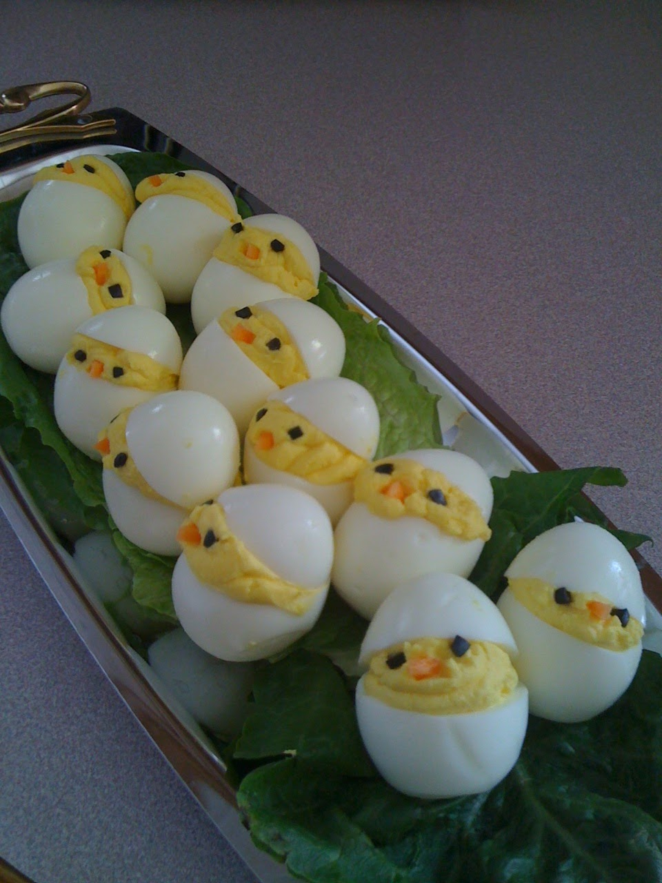 Chickadee Deviled Eggs | Foxy, Fat, and FABULOUS!