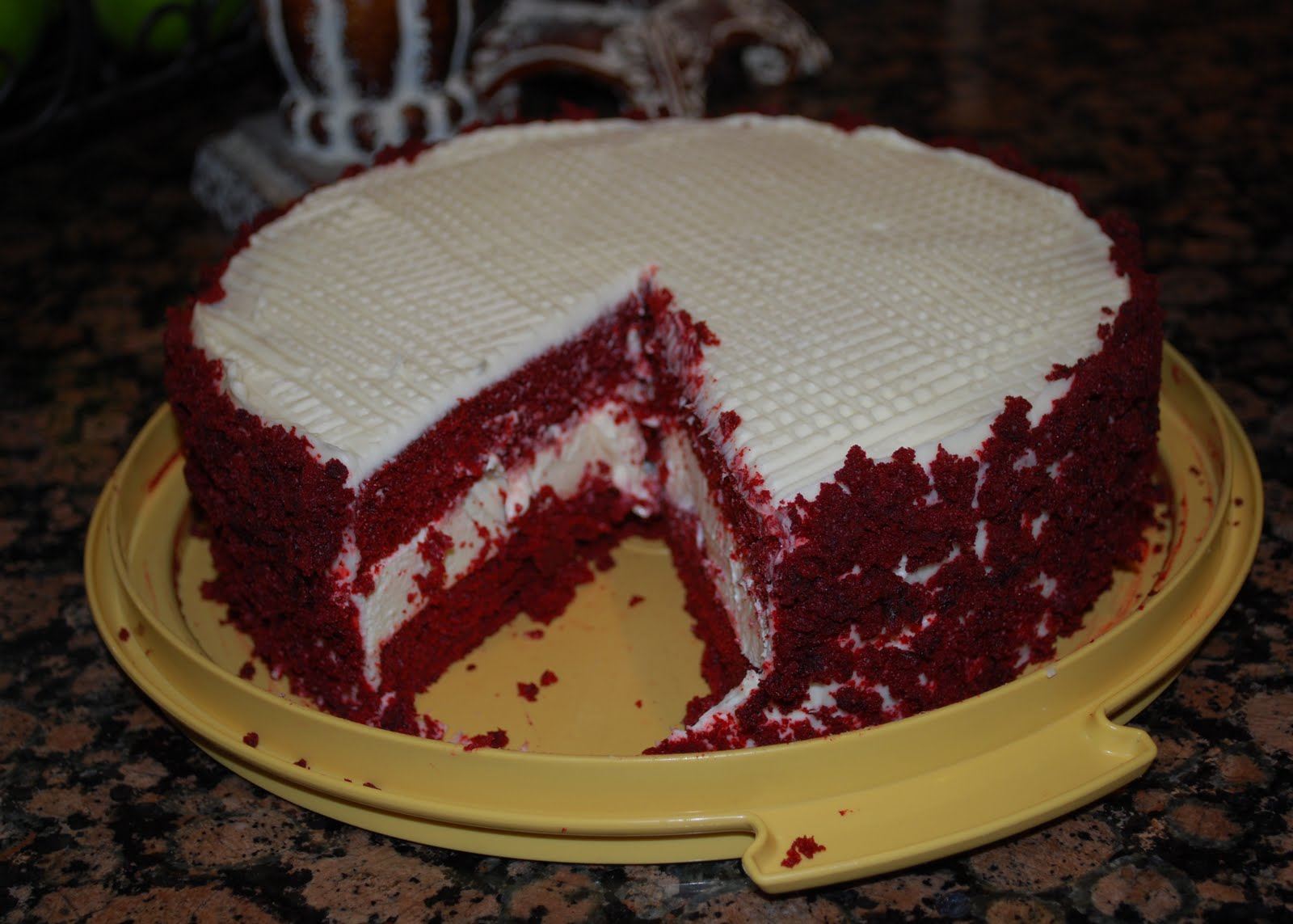 Culinary Couture: Red Velvet Cheesecake