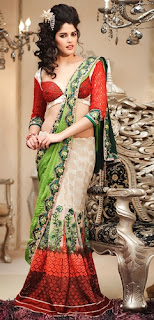 Slim Fit Lehnga Saree
