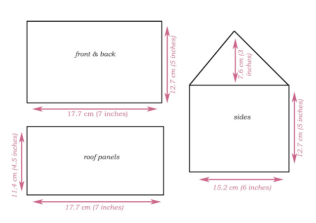 Printable Gingerbread House Template Gingerbread house templates