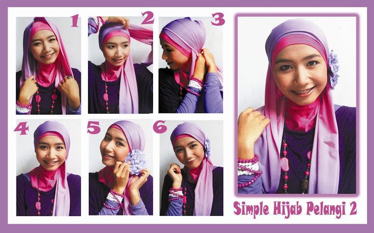 Simple Hijab Pelangi 2
