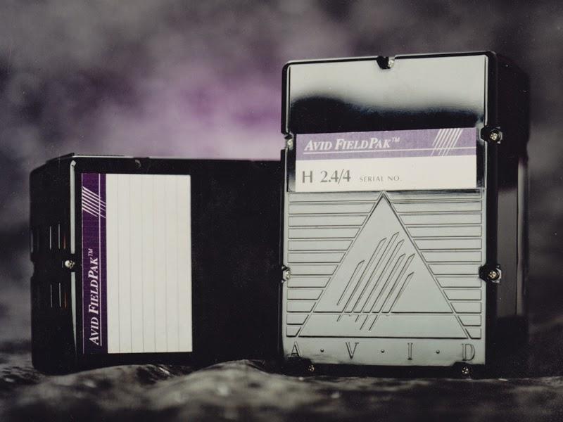 The Avid FieldPak portable hard disk drive..