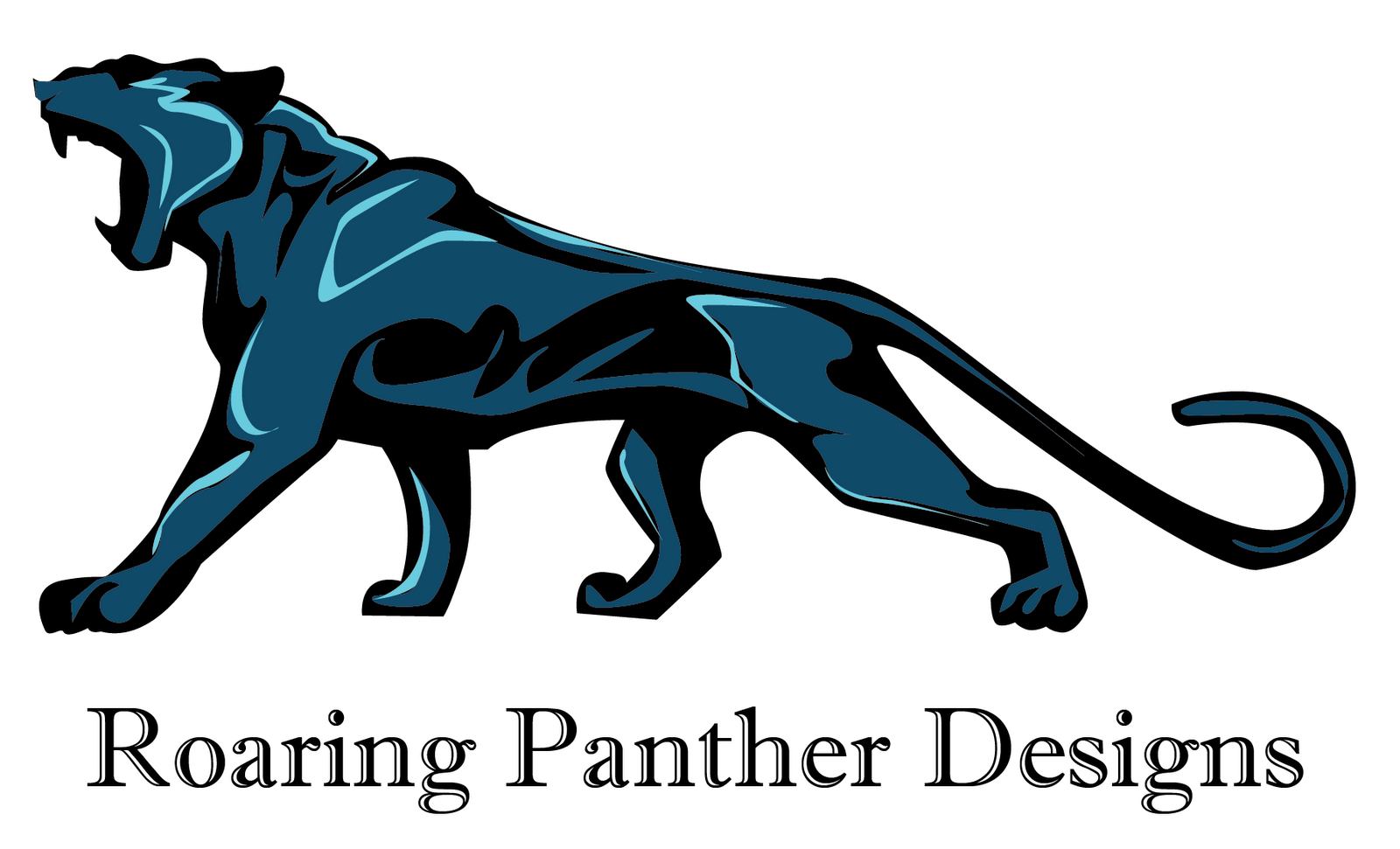 How To Draw Panthers Logo