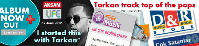 Tarkan storms the charts