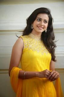 Rakul Preet Singh in yellow dress Hot Hd Wallpapers for Desktop
