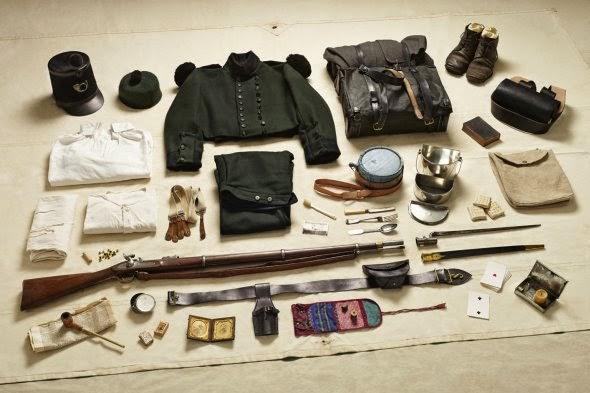 Thom Atkinson fotografia equipamento soldados pela história