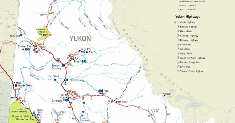 Northwest Explorer Northern Yukon Road Trip 2012