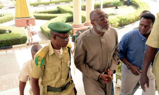 pdp react to handcuffing of Olisa Metuh