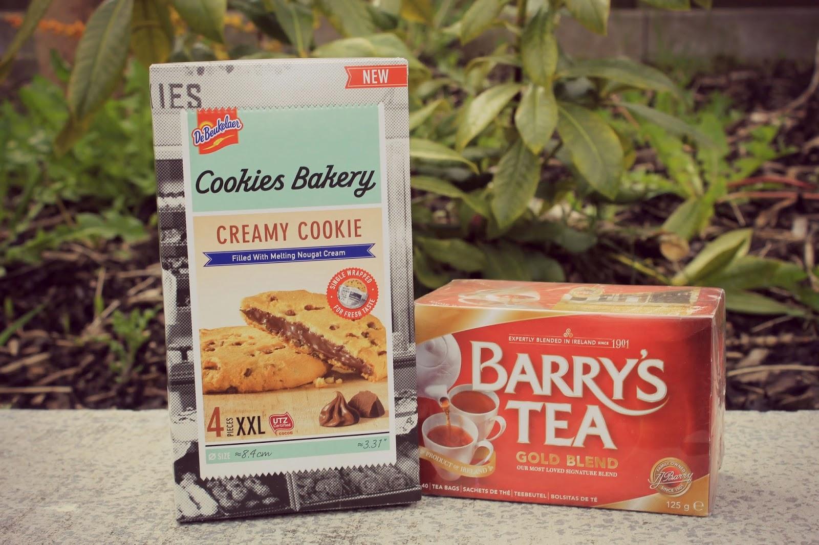gooey microwave cookies