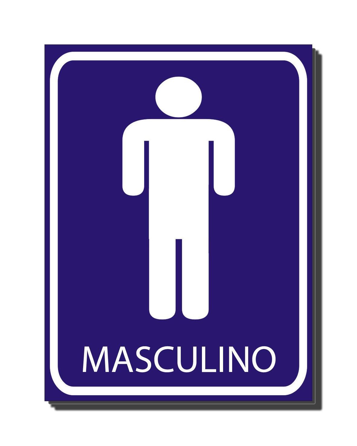 CONTA UMA Banheiro Masculino # Placas Banheiro Feminino Para Imprimir