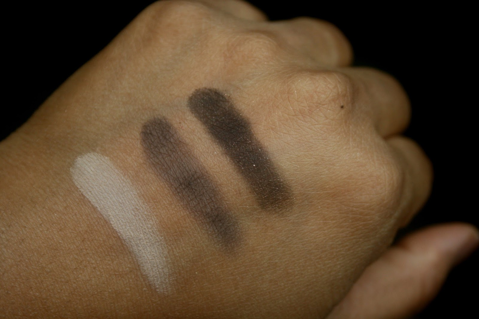 The NARSissist Smokey Eye Kit Swatch