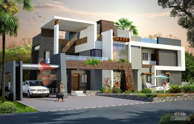 New Contemporary Model Bungalow