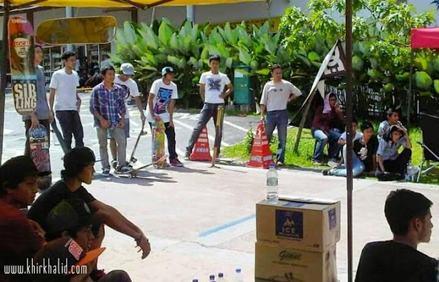 Kuala Lumpur Skateboarder