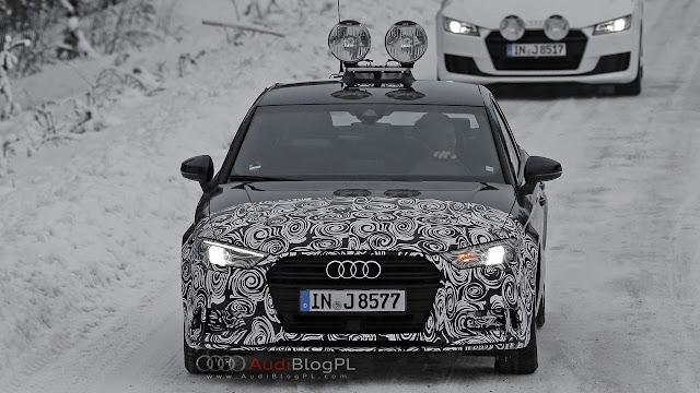 SpyShots: Audi A3 FL