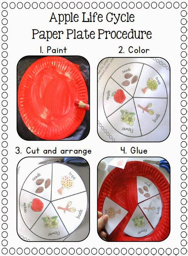 http://www.teacherspayteachers.com/Product/Paper-Plate-Life-Cycles-Frog-Pumpkin-Apple-Sunflower-and-more-877497