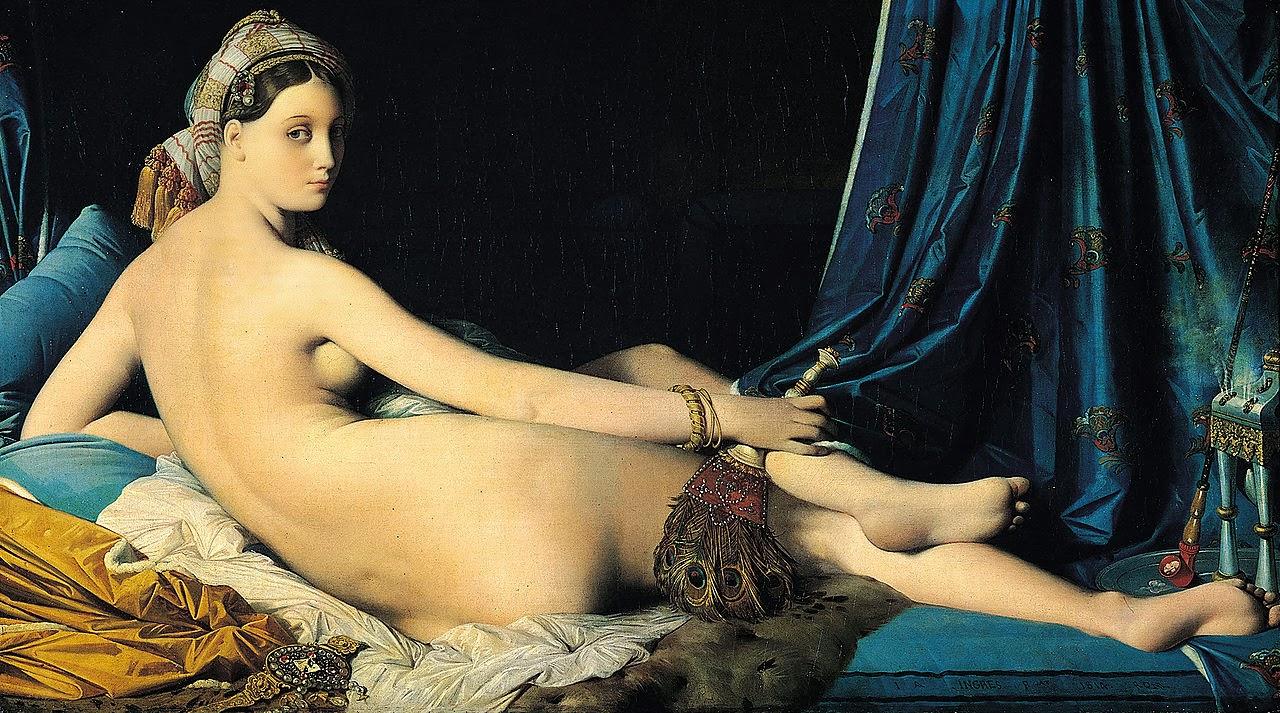 La Grande Odalisque, 1814