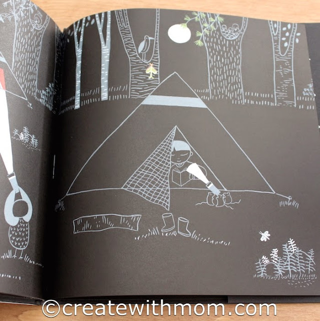 flashlight children's book