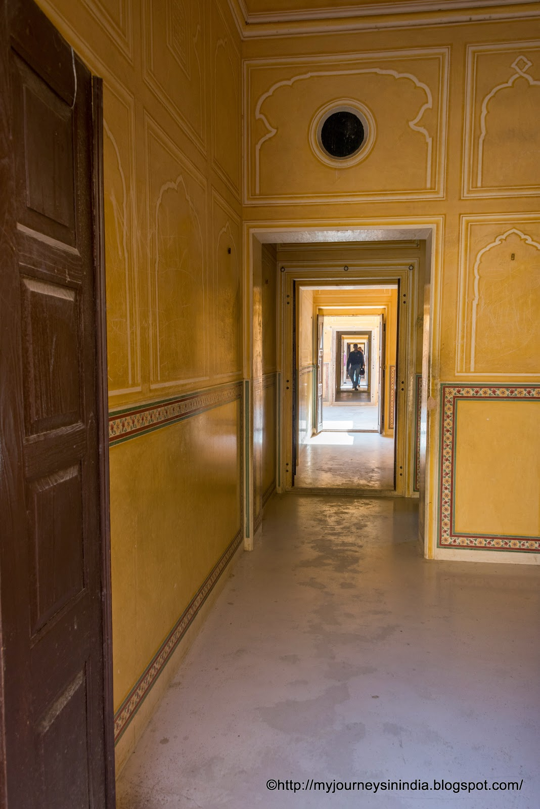 Narrow Chambers Madhavenra Palace Jaipur