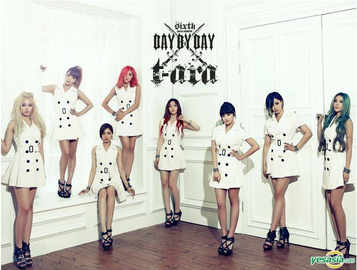 [MP3/DL] T-ara - Day By Day Full Album MP3