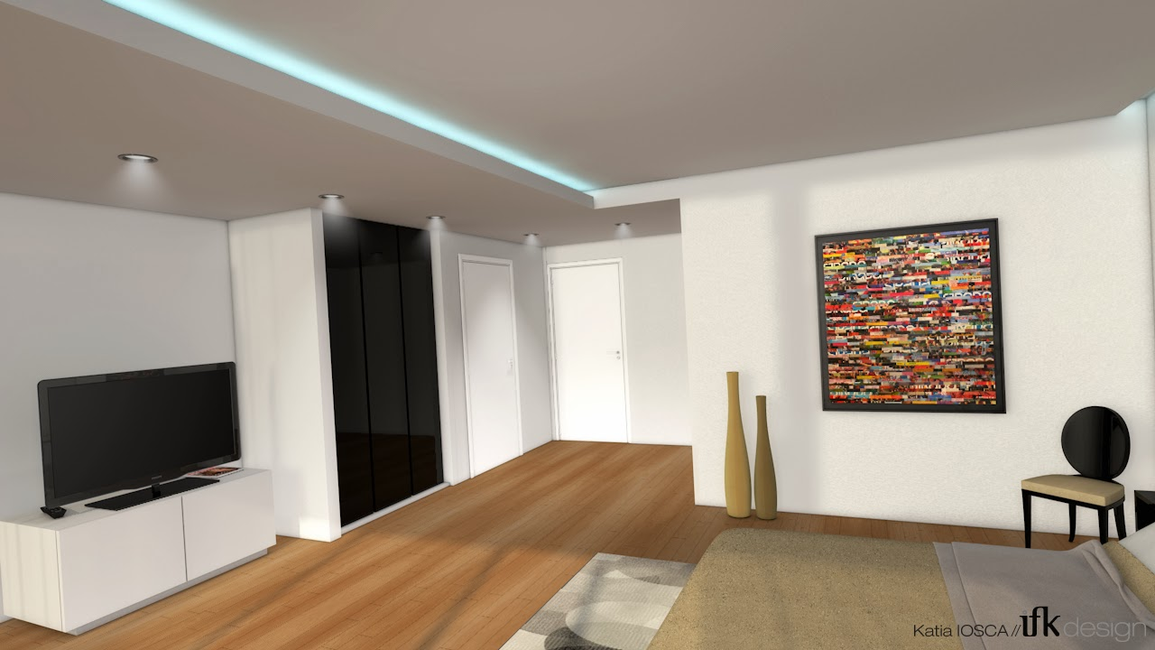 Ifk design graphic designer mod lisation 3d pour la for Modelisation cuisine 3d