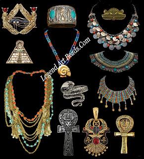 Egyption Jewelry Set